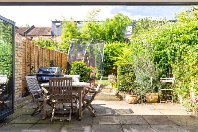 Garden of St. Marys Grove, Grove Park, Chiswick, London W4