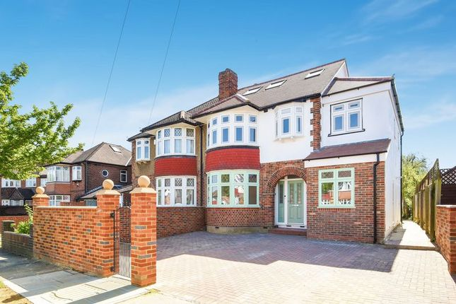 Thumbnail Semi-detached house for sale in The Hollands, Worcester Park