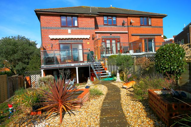 Thumbnail Town house to rent in Belle Vue Road, Lower Parkstone, Poole