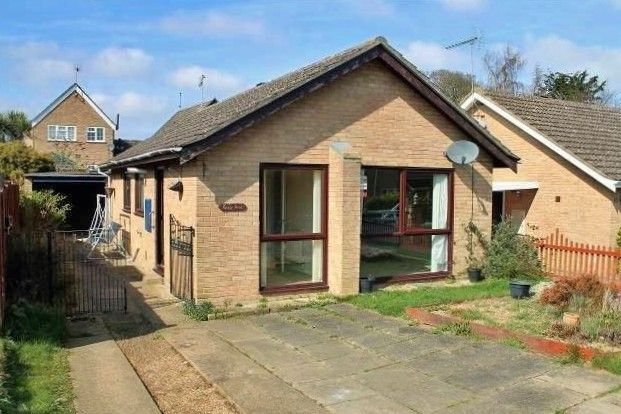 Thumbnail Detached bungalow to rent in Stobart Close, Beccles