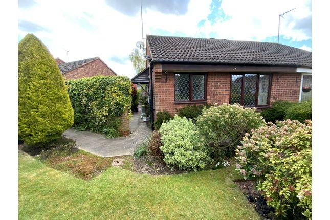 Thumbnail Semi-detached bungalow for sale in Ilam Park, Kenilworth