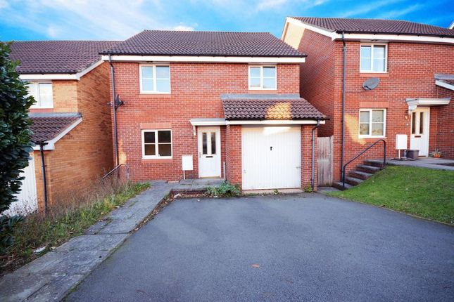 Thumbnail Detached house for sale in Speedwell Close, Pontprennau, Cardiff