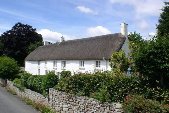 Thumbnail Detached house for sale in Throwleigh, Okehampton