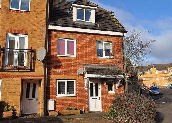 Thumbnail End terrace house for sale in Richmond Meech Drive, Kennington, Ashford