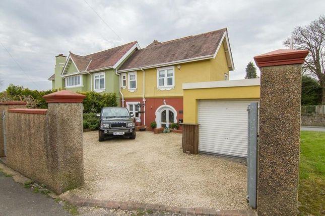 Thumbnail Semi-detached house for sale in Brooklands Close, Gwaelodygarth, Merthyr Tydfil