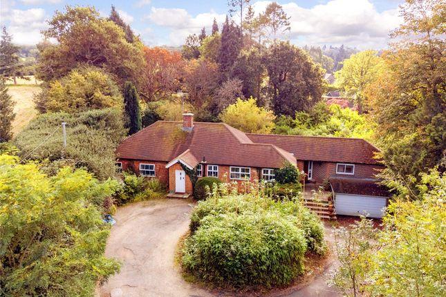 Thumbnail Detached bungalow for sale in Hale House Lane, Churt, Farnham, Surrey