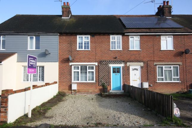 Thumbnail Terraced house for sale in Defoe Crescent, Colchester