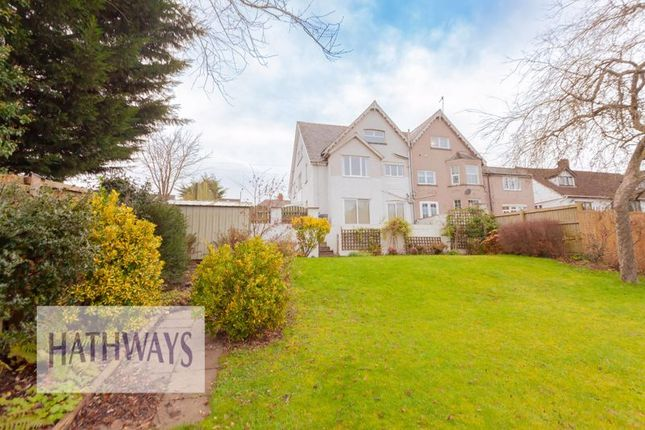 Thumbnail Semi-detached house for sale in Llantarnam Road, Llantarnam, Cwmbran