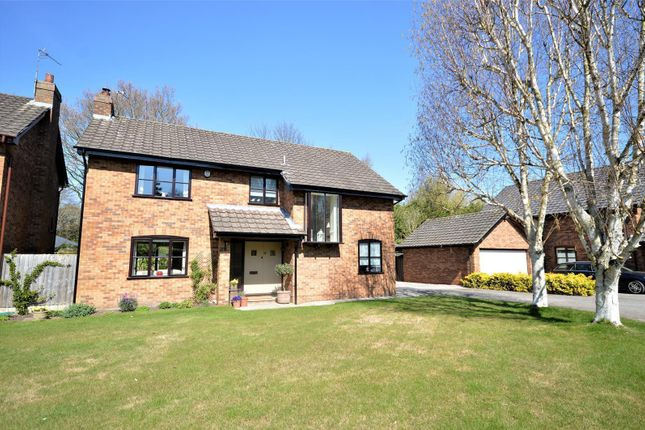 Thumbnail Detached house for sale in Gilwell Close, Grappenhall, Warrington