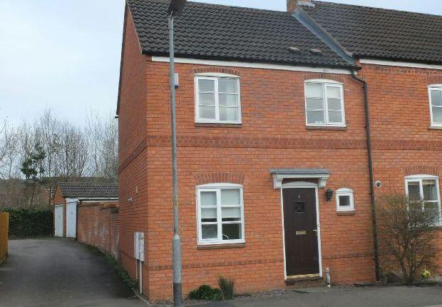 Thumbnail End terrace house for sale in Skippe Close, Ledbury