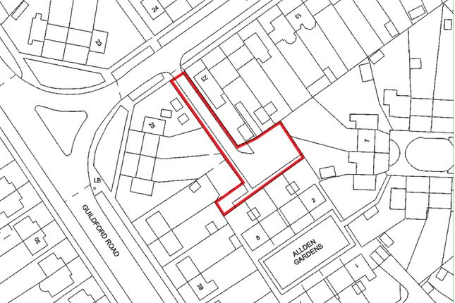 Thumbnail Land for sale in Allden Gardens, Aldershot