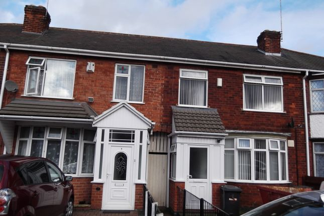 Thumbnail Town house to rent in Cameron Avenue, Leicester