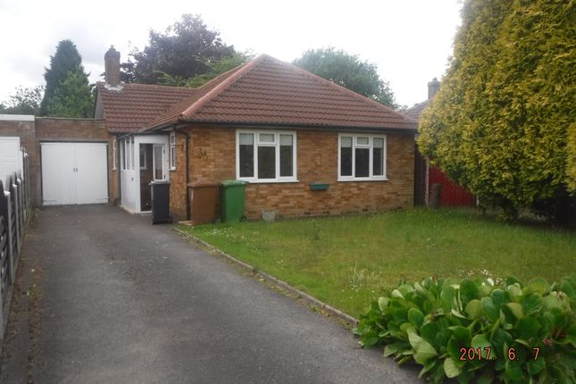 Thumbnail Bungalow to rent in Thorney Road, Birmingham
