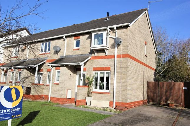 Thumbnail Semi-detached house for sale in Llys Dwynwen, Llantwit Major
