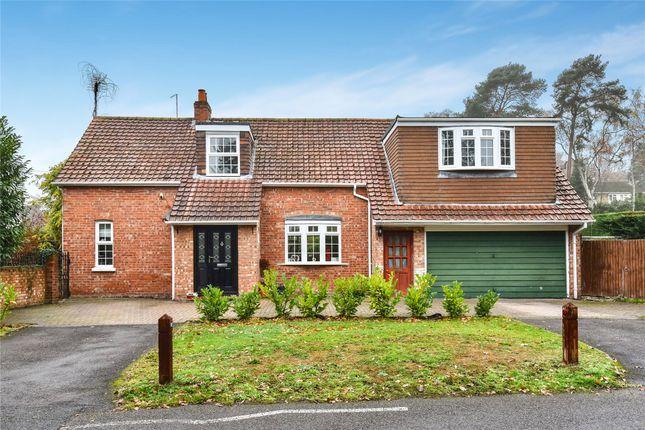 Thumbnail Detached house for sale in Thibet Road, Sandhurst, Berkshire