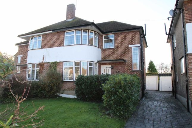 Thumbnail Semi-detached house to rent in Broadcroft Road, Petts Wood, Orpington