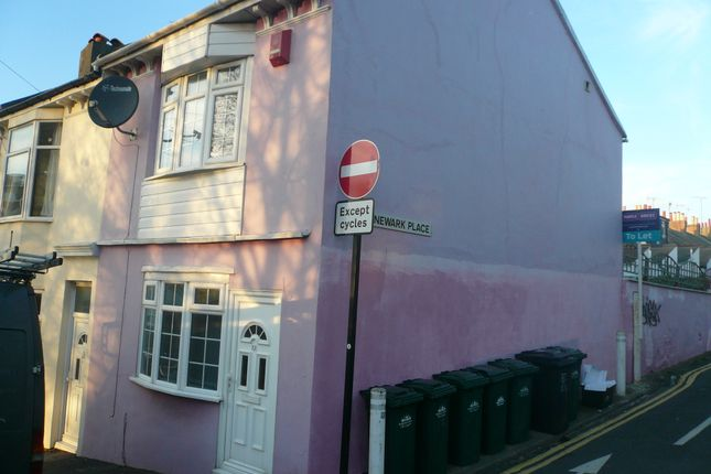 Thumbnail End terrace house to rent in Albion Hill, Brighton