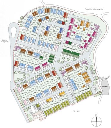 Site Plan.Png of Staneford Close, Ketley, Telford TF1