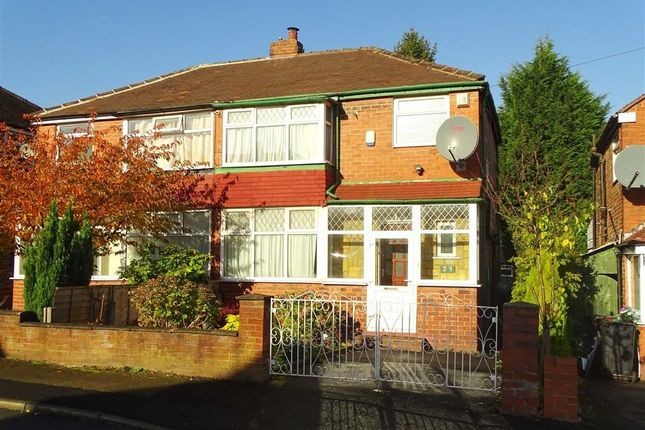 Thumbnail Semi-detached house to rent in Dovedale Avenue, Prestwich, Prestwich Manchester