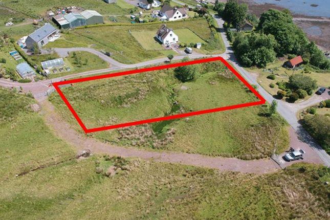 Thumbnail Land for sale in Croft Road, Lochcarron, Strathcarron