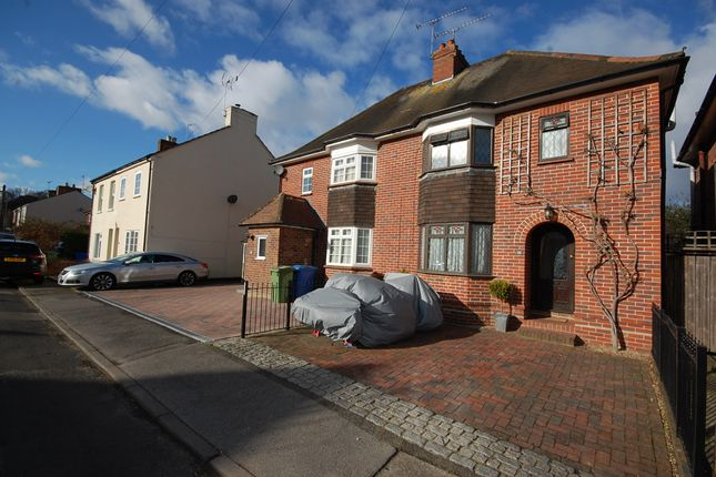 Thumbnail Semi-detached house for sale in South Street, Farnborough, Hampshire