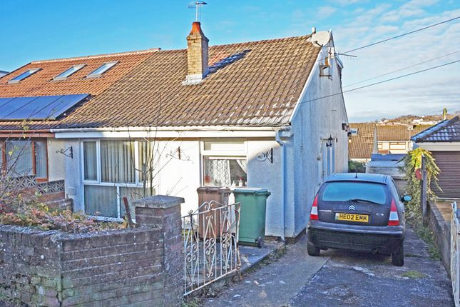 Thumbnail Semi-detached bungalow for sale in St. Annes Gardens, Maesycwmmer