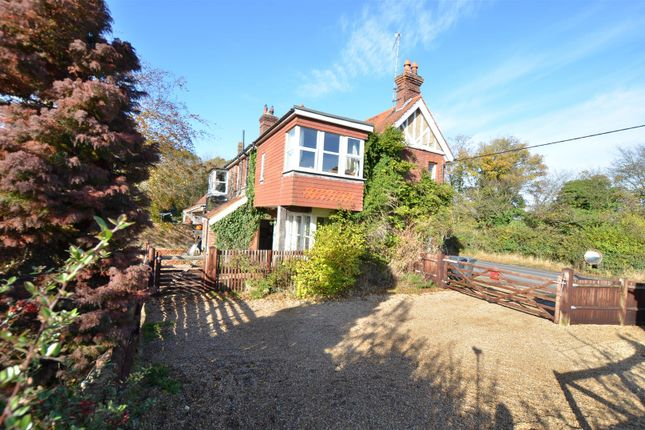 Thumbnail Equestrian property for sale in Coggers Cross, Horam, Heathfield