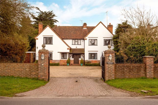 Thumbnail Detached house for sale in Waltham Road, White Waltham, Maidenhead, Berkshire