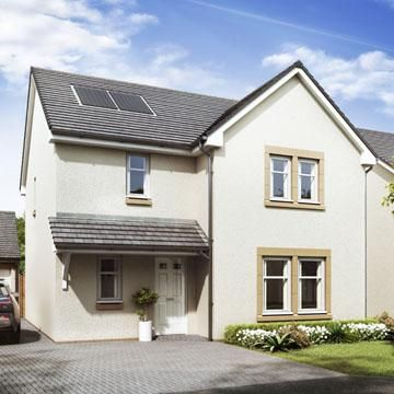 Thumbnail Detached house for sale in Kessington Gate, Off Inveroran Drive, Bearsden