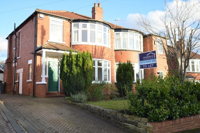 Thumbnail Semi-detached house to rent in Kingswood Crescent, Leeds
