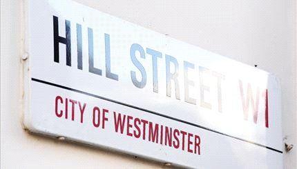 Hill Street of 39 Hill Street, Mayfair, London W1J