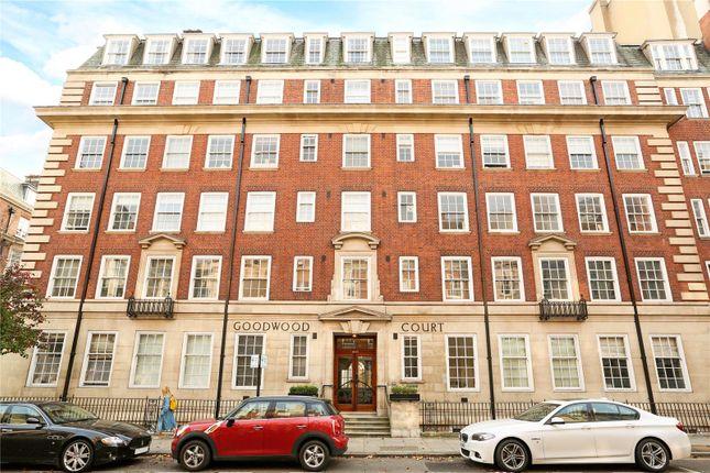 External of Goodwood Court, 54-57 Devonshire Street, London W1W