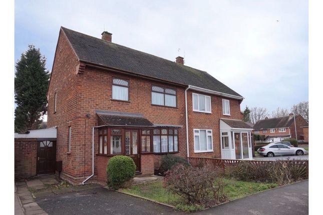 Thumbnail Semi-detached house for sale in Renton Road, Wolverhampton