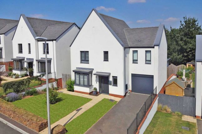 Thumbnail Detached house for sale in Old Quarry Drive, Exminster, Exeter
