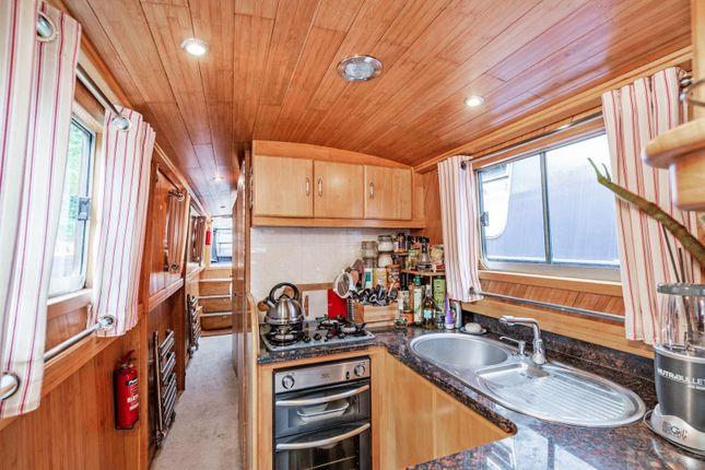 Kitchen of Blomfield Road, Little Venice W9