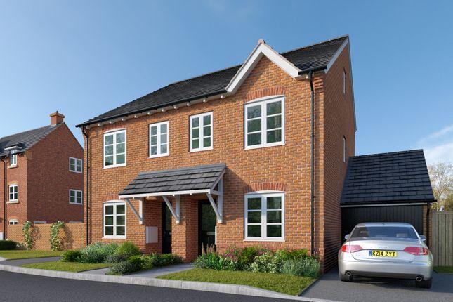 Thumbnail Semi-detached house for sale in Orleton Lane, Telford, Shopshire