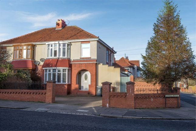 Thumbnail Semi-detached house for sale in Park Road, Hartlepool, Durham