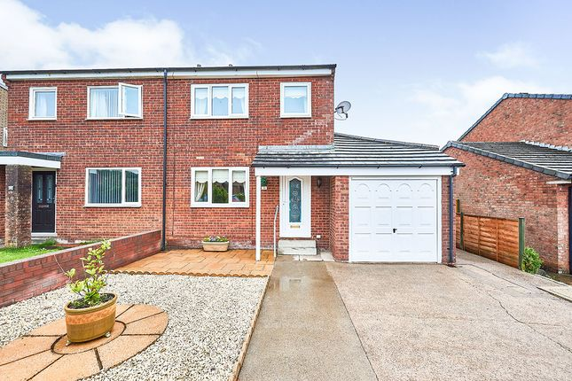 Thumbnail Semi-detached house for sale in Fellview Drive, Egremont, Cumbria