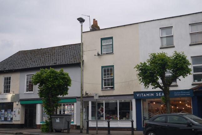 Thumbnail Flat to rent in High Street, Cullompton, Devon