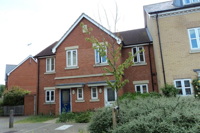 Thumbnail Terraced house to rent in Gilbert Way, Canterbury