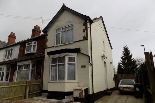 Thumbnail End terrace house for sale in Gristhorpe Road, Selly Oak, Birmingham