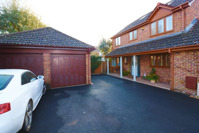 Thumbnail Detached house for sale in Missenden Acres, Hedge End