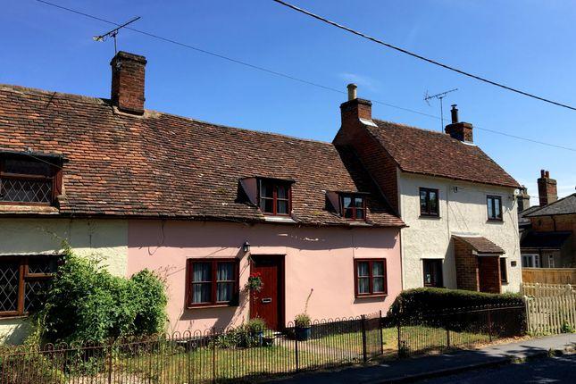 Thumbnail Cottage for sale in Gaston Street, East Bergholt, Colchester