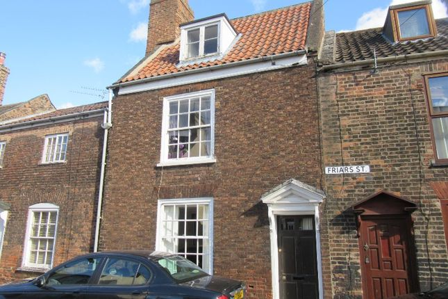 Thumbnail Terraced house to rent in Friars St, Kings Lynn