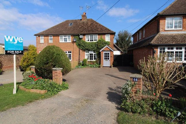 Thumbnail Semi-detached house for sale in Beech Tree Road, Holmer Green, High Wycombe