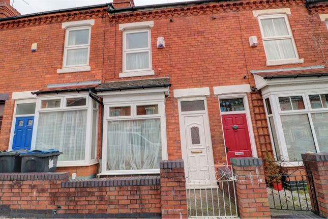 Thumbnail Terraced house for sale in Wallace Road, Birmingham