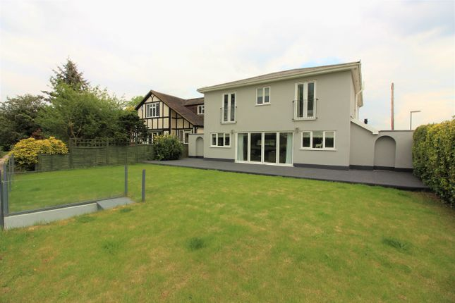 Thumbnail Detached house for sale in Riverbank, West Molesey
