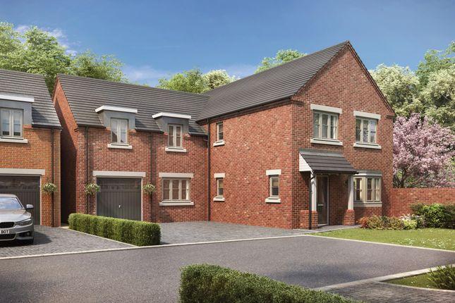 Thumbnail Detached house for sale in Plot 12 - The Oak, Wood Lane, Gedling, Nottingham