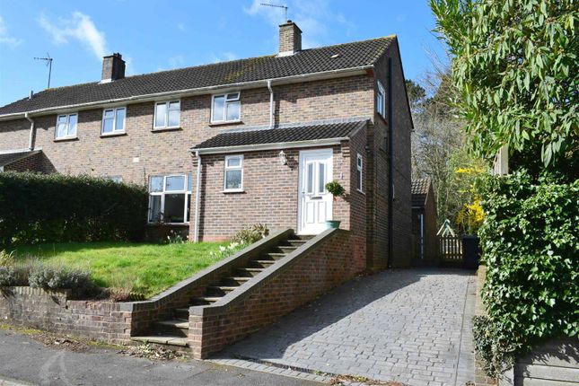 Thumbnail Semi-detached house for sale in Abbey Close, Newbury