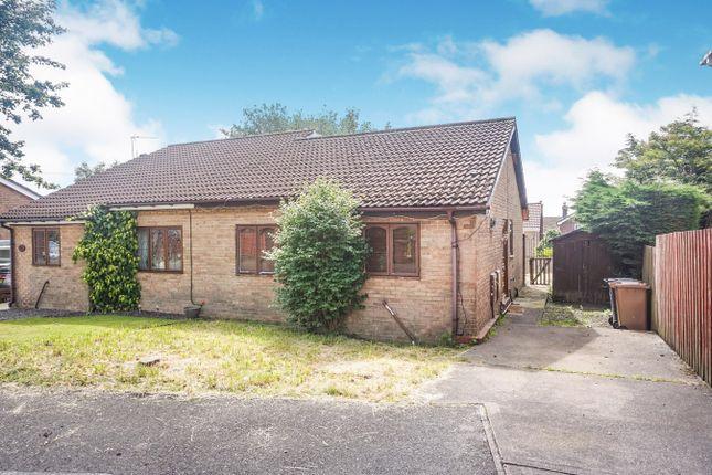 Thumbnail Semi-detached bungalow for sale in Criccieth Close, Grove Park, Blackwood